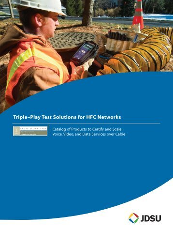 HFC Network Catalog for Cable Operators - JDSU