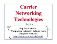 Carrier Networking Technologies