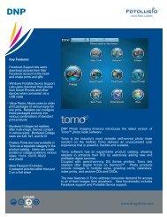 product sheet 2010 tomo.pdf - DNP IMS America Corp. - Photo ...