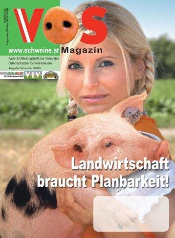 """Mit """"Unternehmen Landwirtschaft 2020"""" - Schweine.at"""