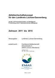 Abfallwirtschaftskonzept für den Landkreis Lüchow-Dannenberg ...