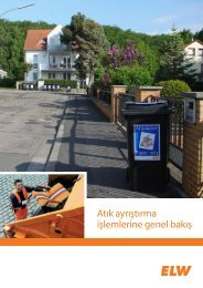 Abfalltrennung im Überblick - ELW