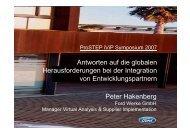 Peter Hakenberg Antworten auf die globalen ... - prostep.org