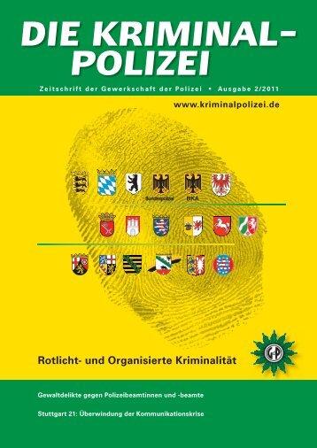 Rotlicht- und Organisierte Kriminalität - Die Kriminalpolizei