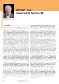 Rotlicht- und Organisierte Kriminalität - Die Kriminalpolizei - Seite 6