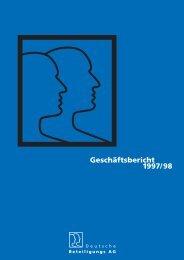 Bilanz zum 31. Oktober 1998 - Deutsche Beteiligungs AG