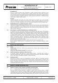 BEZPEČNOSTNÍ LIST Kyselina chlorovodíková 31 % - Proxim s.r.o. - Page 3