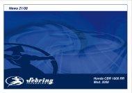 Honda CBR 1000 RR Mod. 2008 - Sebring