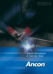 Special Fabrications in Stainless Steel - Ancon Building Products