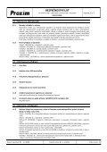 BEZPEČNOSTNÍ LIST Kalafuna - Proxim s.r.o. - Page 6