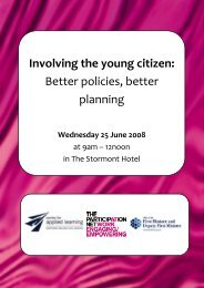 Involving the young citizen - Participation Network