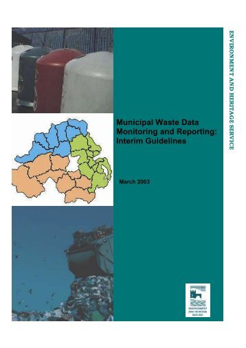 Municipal Waste Data Monitoring and Reporting: Interim Guidelines
