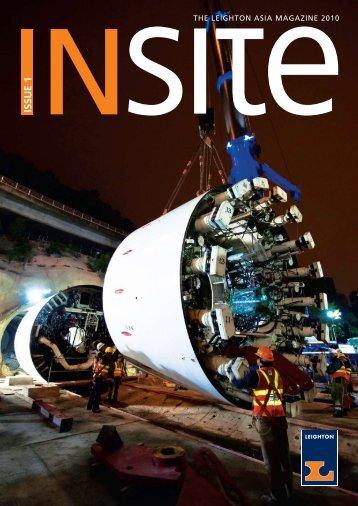 ISSUE 1 - Leighton Asia
