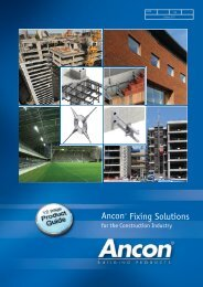 12 Page Product Guide - Ancon Building Products