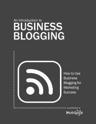 An Introduction to How to use business blogging for ... - Stadia Studio
