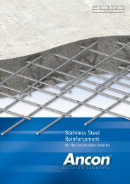 Stainless Steel Reinforcement - Ancon