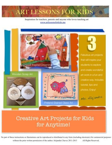 free ebook 1 - Art Lessons For Kids
