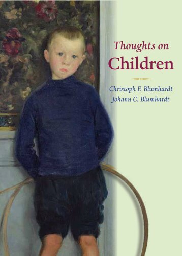 Thoughts on Children - a free ebook - Plough