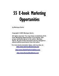 55 E-Book Marketing Opportunities - How to create MIDI-eBooks
