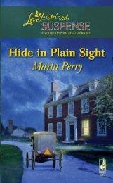 Hide in Plain Sight - Harlequin.com