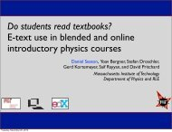 Do students read textbooks? E-text use in blended and online ...
