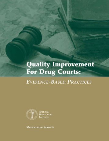 Quality Improvement for Drug Courts - National Drug Court Institute