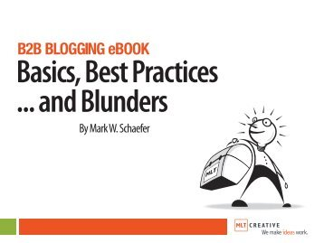 B2B BLOGGING eBOOK - Schaefer Marketing Solutions