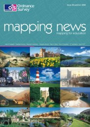 mapping news 30 summer 2006 - Ordnance Survey