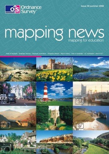 mapping news 30 summer 2006 - Ordnance Survey