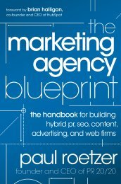 the handbook for building hybrid pr, seo, content - Marketing Agency ...