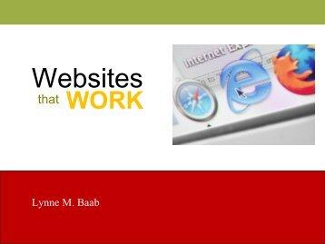 Websites - Alban Institute
