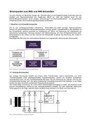 Stromquellen zum MIG und WIG-Schweißen - EPA ...