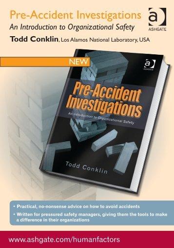 Pre-Accident Investigations - Ashgate