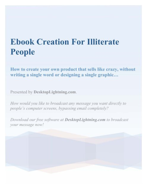 Ebook Creation For Illiterate People New Seasons Adult Family