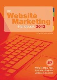 The Website Marketing Handbook 2012 | 57 Ways To