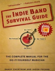 The Indie Band Survival Guide - Ebook - ReverbNation Edition