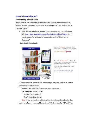 How do I read eBooks? - Book Ganga - Creation