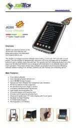 JE200 Color eReader - JE100