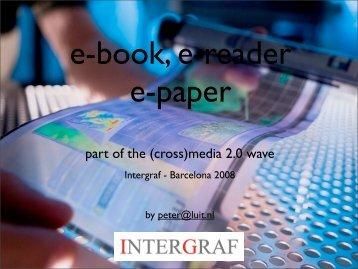 E-book, E-reader E-paper - Intergraf