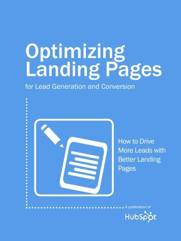 Optimizing Landing Pages for Lead Generation - Adwebvertising