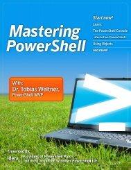 Mastering Powershell (PDF) - PowerShell Scripts