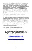 Cold Calling - Free Nonfiction Books - Page 4