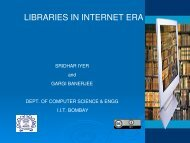LIBRARIES IN INTERNET ERA