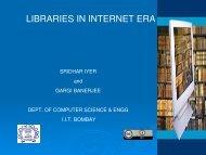 LIBRARIES IN INTERNET ERA