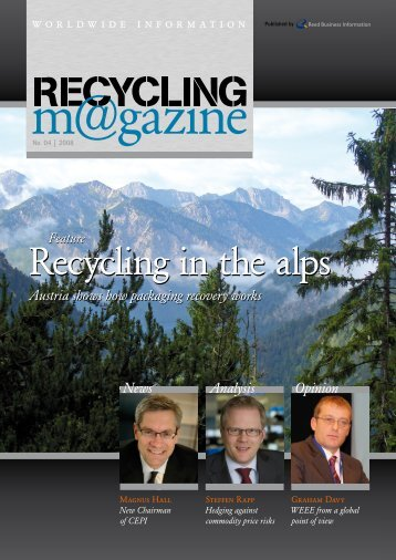 please click here for the pdf-version - RECYCLING magazin
