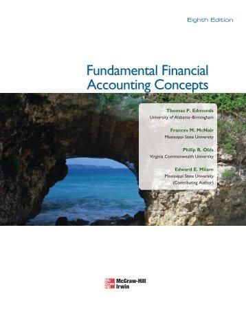 Fundamental Financial Accounting Concepts - Novella - McGraw-Hill
