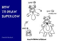 How to Draw Supercow - Free Kids Books