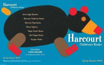 Download Harcourt Children's Books Spring-Summer 2008 Catalog