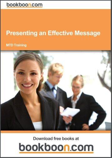 Presenting an Effective Message - Marshalls University