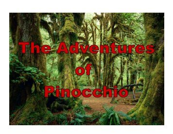 The Adventures of Pinocchio - Candida Martinelli's Italophile Site
